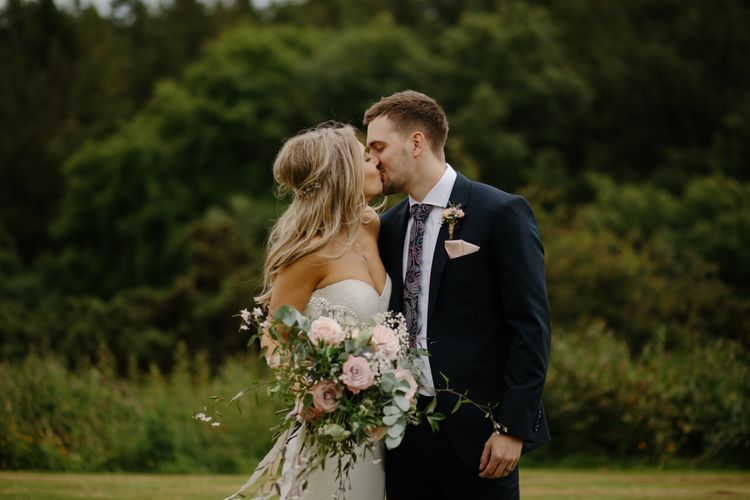 Bride & Groom | Rustic Homespun Wedding At Natural Retreats Yorkshire Dales With Images by Mike & Tom