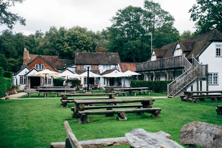 Outdoor Ceremony & Rustic Wedding at Patricks Barn, Sussex | Dale Weeks Photography | Love Filmed