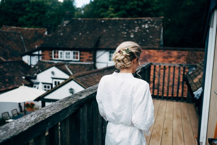 Bridal Hair | Outdoor Ceremony & Rustic Wedding at Patricks Barn, Sussex | Dale Weeks Photography | Love Filmed