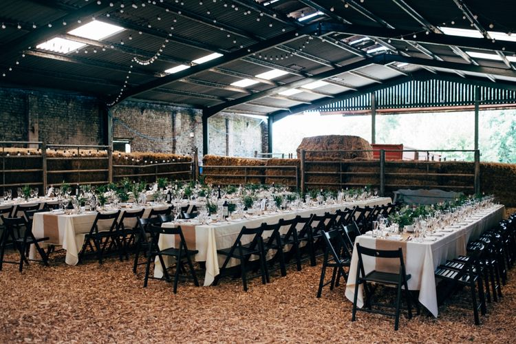 Tablescape | Outdoor Ceremony & Rustic Wedding at Patricks Barn, Sussex | Dale Weeks Photography | Love Filmed