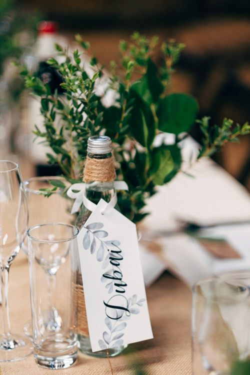 Centrepiece | Outdoor Ceremony & Rustic Wedding at Patricks Barn, Sussex | Dale Weeks Photography | Love Filmed