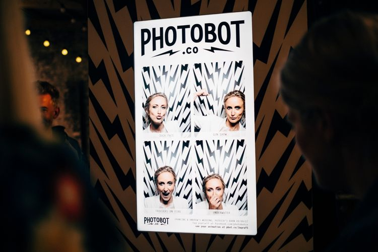 Photobot Photo Booth | Rustic Wedding at Patricks Barn, Sussex | Dale Weeks Photography | Love Filmed