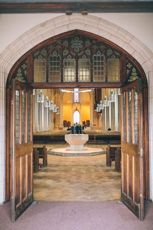 Ealing Abbey Intimate Church Wedding Ceremony