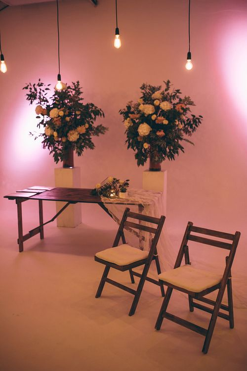 The Worx London with Industrial Lighting