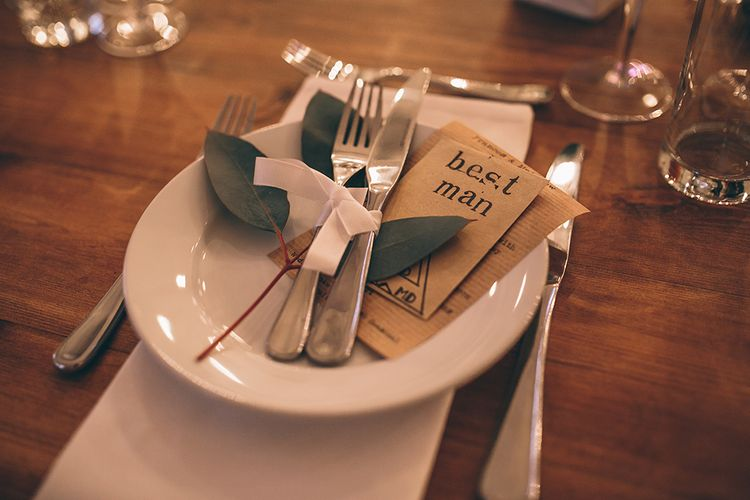 Place Setting & Wedding Favours
