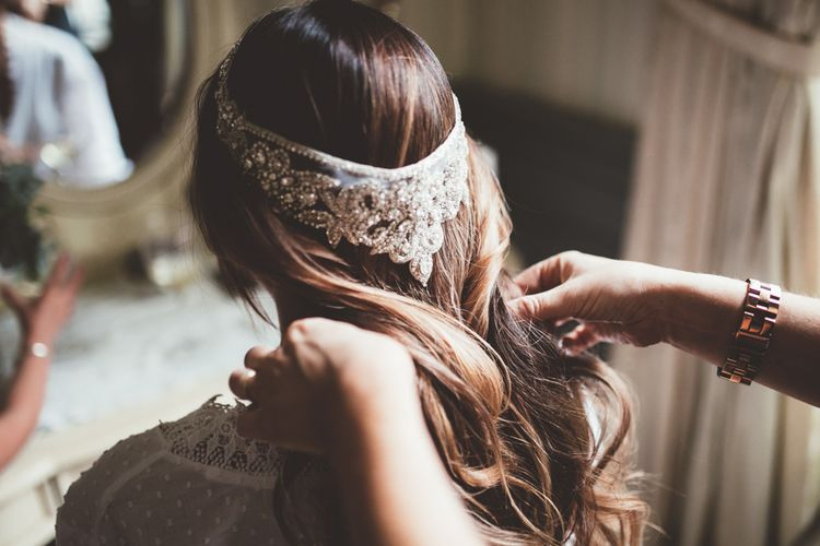 Anna Campbell Headpiece For Brides