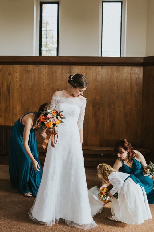 Autumnal Wedding In London With Reception At Brixton East And Images From We Heart Pictures