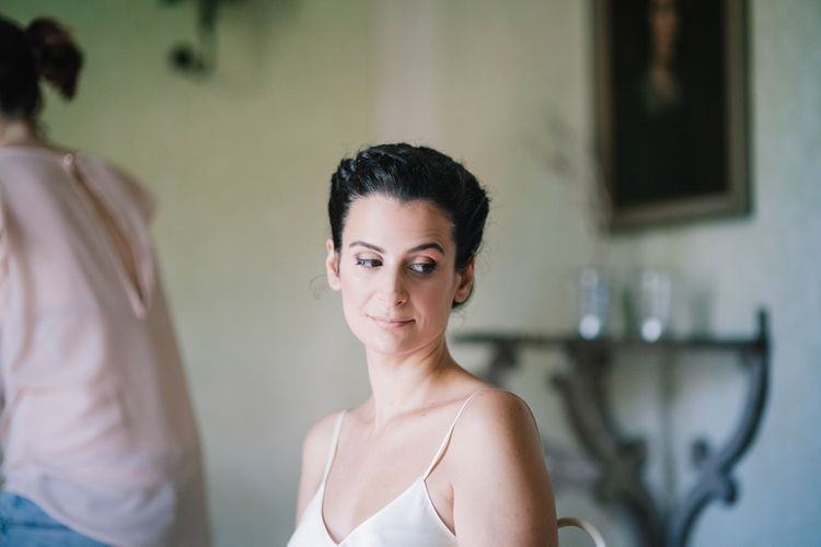 Natural Wedding Makeup | Bright Woodland Wedding in Italy Planned & Styled by Le Jour du Oui | Infraordinario Wedding Photography | Mani Films