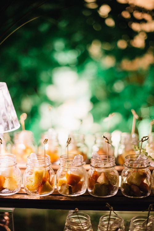 Wedding Catering | Bright Woodland Wedding in Italy Planned & Styled by Le Jour du Oui | Infraordinario Wedding Photography | Mani Films