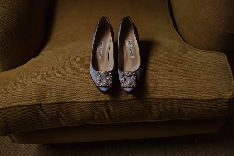 Manolo Blahnik Wedding Shoes Image By The Curries