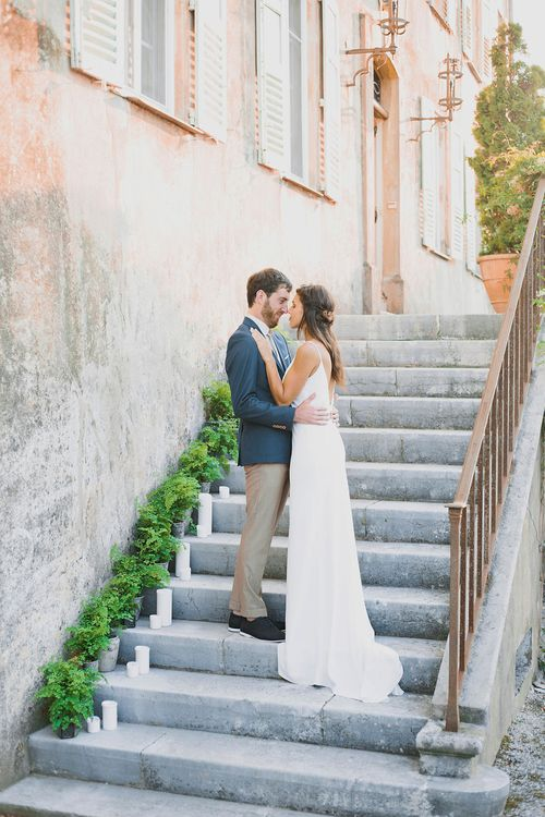 Bride & Groom | Greenery on the French Riviera | Purewhite Photography | D'amour et de deco Styling