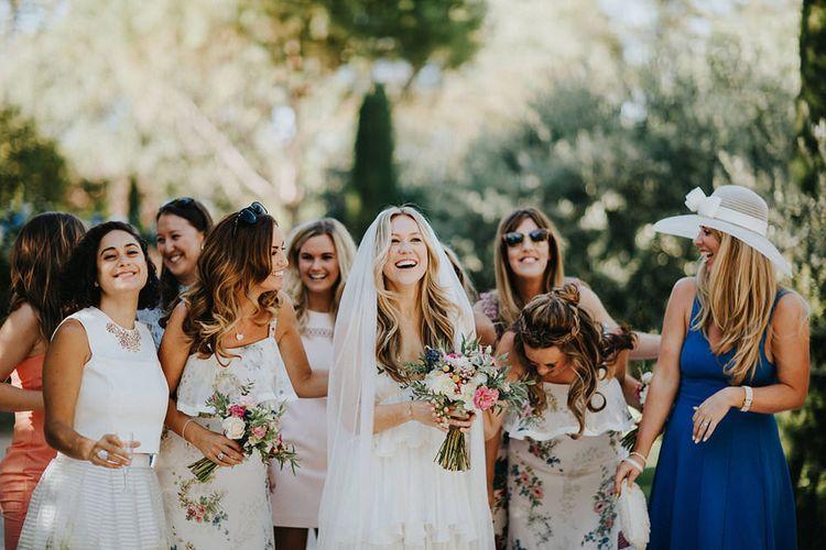 Alternative Wedding Group Shots // Image By Irene Yap