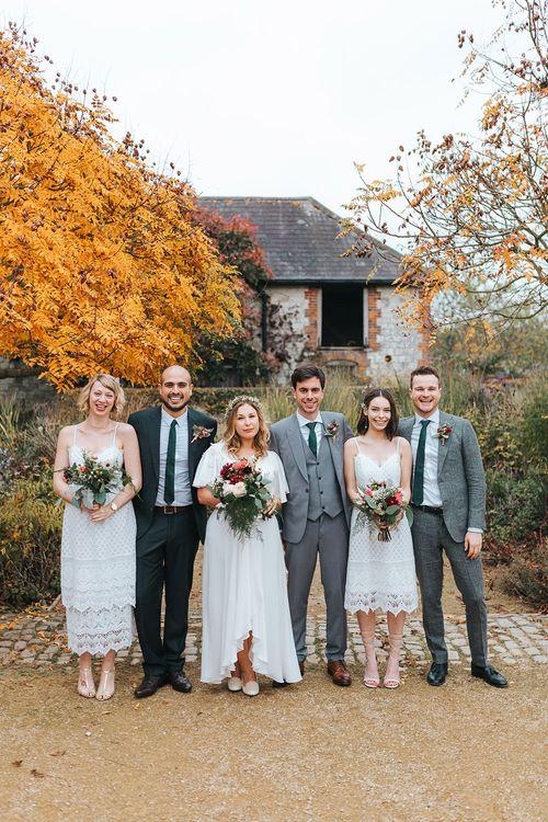 Alternative Wedding Group Shots // Image By Miss Gen