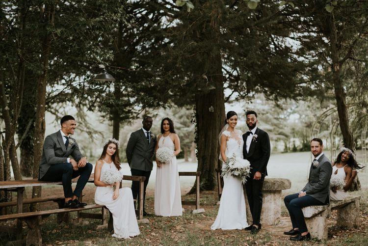 Alternative Wedding Group Shots // Image By Phan Tien