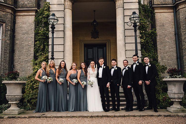 Alternative Wedding Group Shots // Image By Samuel Docker