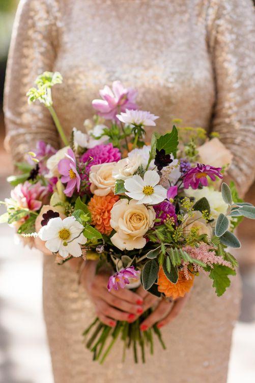 Hand Picked Wedding Bouquet