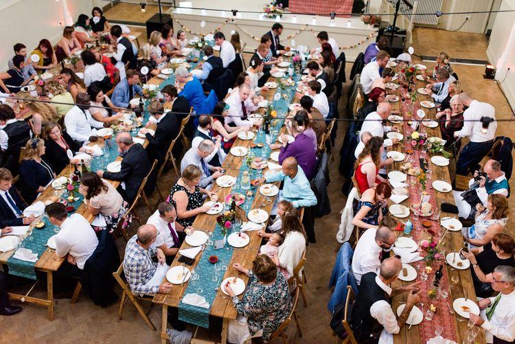 Tab Centre Wedding Reception in Shoreditch