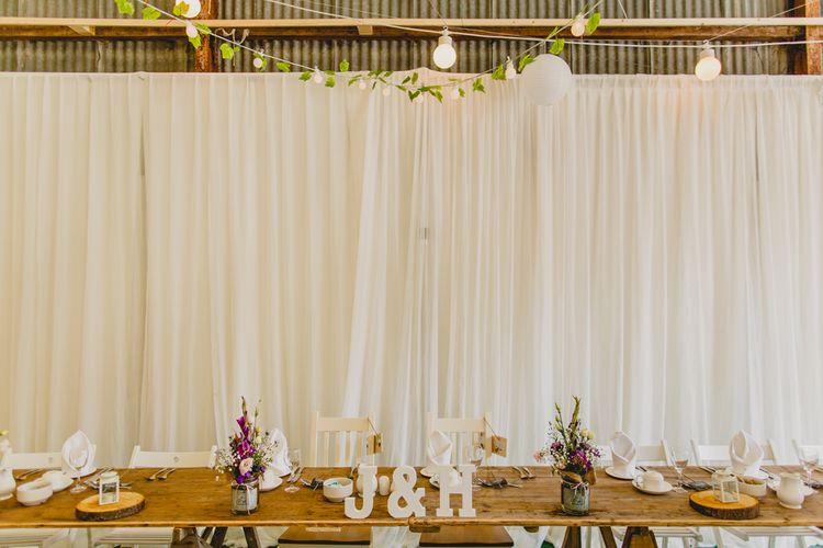 Top Table Wedding Decor   Navyblur Photography   Cinematic Tide Films