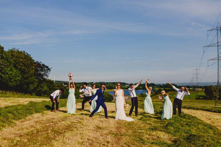 Wedding Party Portrait   Navyblur Photography   Cinematic Tide Films