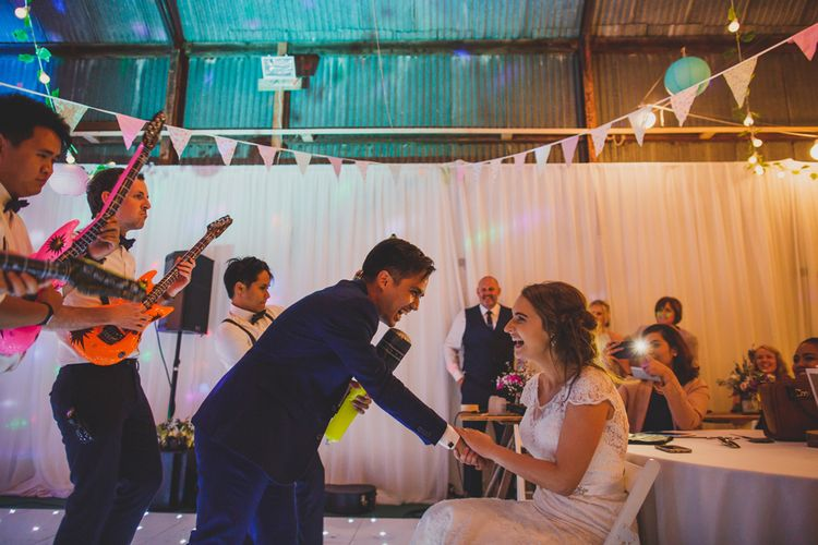 Groom Lip Syncing Song to Bride   Navyblur Photography   Cinematic Tide Films