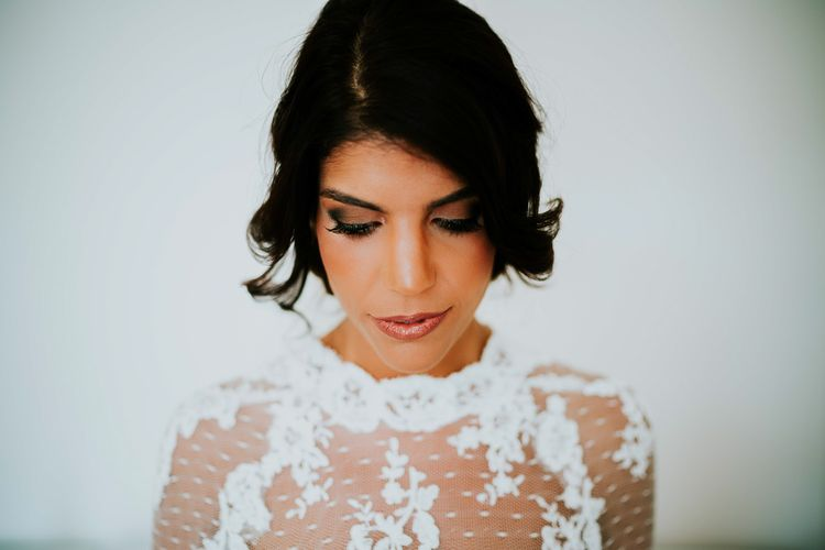 Bridal Beauty | Super Luxe Greek Wedding at The Cipriani in Venice | Bridgwood Wedding Photography