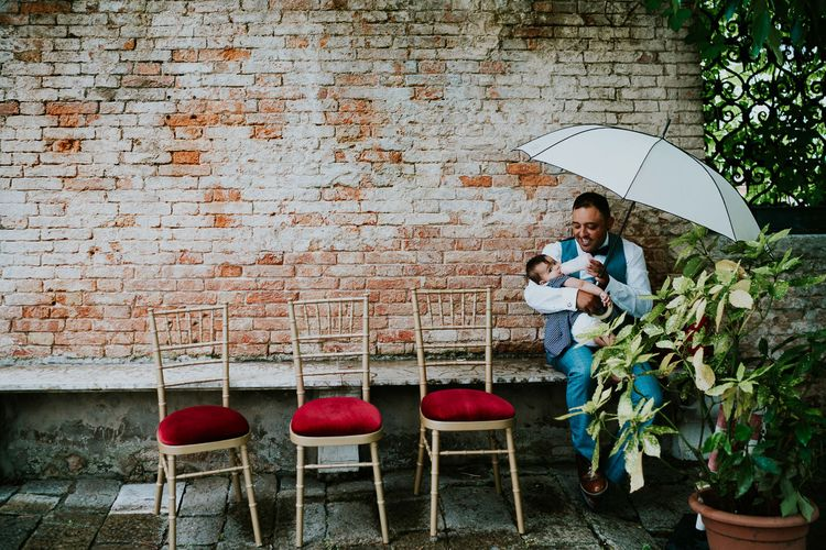 Wedding Guests | Super Luxe Greek Wedding at The Cipriani in Venice | Bridgwood Wedding Photography