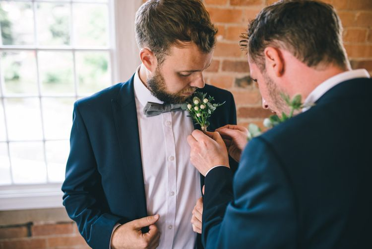 Groom in Slater Jacket by Matt Brown Photography