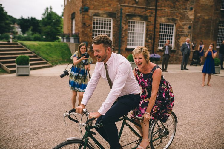 Tandem Bicycle at The West Mill Derbyshire by Matt Brown Photography
