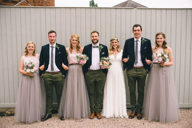 Wedding Party by Matt Brown Photography