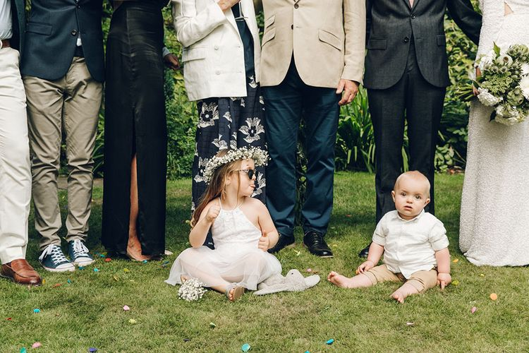 Cute Little Ones at Wedding