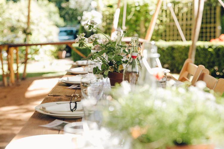Stretch Tent Wedding Reception