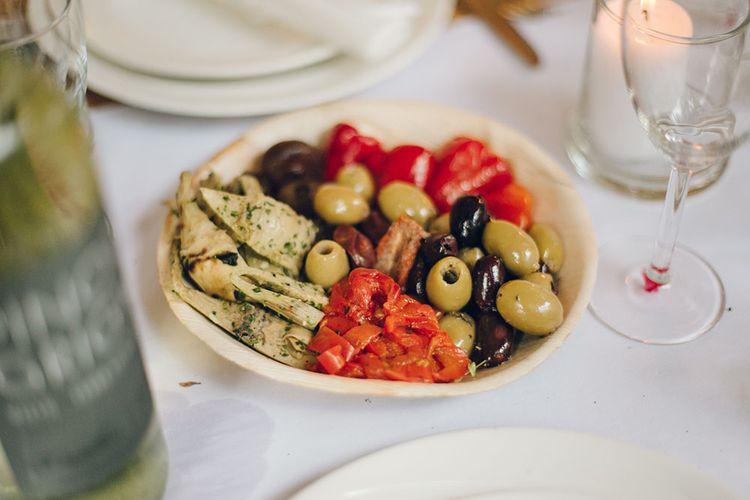 Wedding Reception Sharing Plates