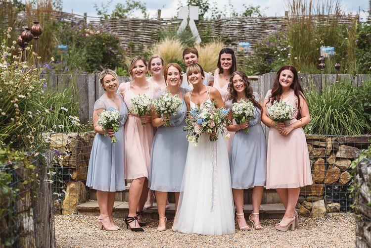 Bridesmaids In ASOS Dresses