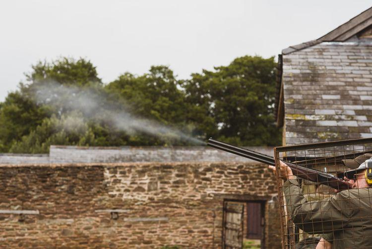 Clay Pigeon Shooting Wedding Morning