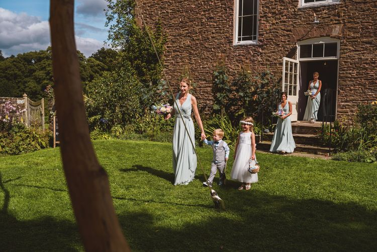 Wedding Party in No.1 By Jenny Packham