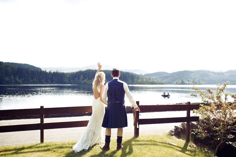 Humanist Wedding In Scotland At Altskeith Country House