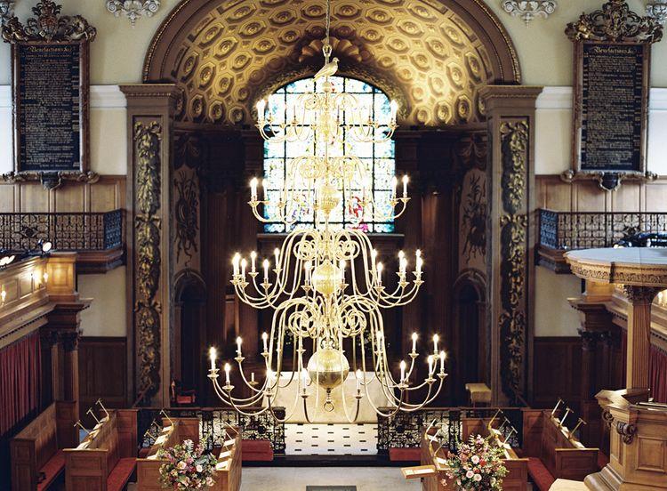 St Alfege Church Wedding Ceremony   Classic Wedding at Trafalgar Tavern, Greenwich, London   Ann-Kathrin Koch Photography