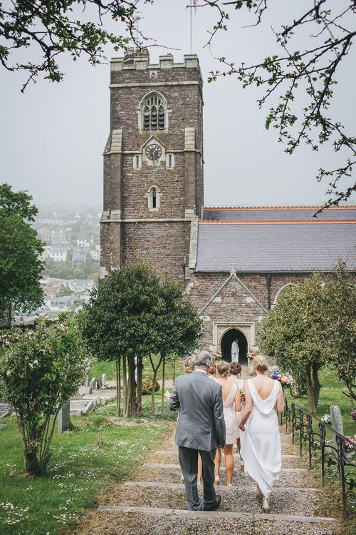 Church Bridal Party Entrance