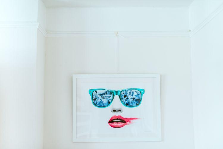 Sunglasses & Lips Illustration