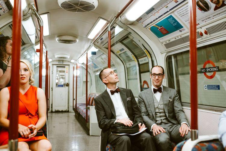 Groom in Suit Supply Suit & Bespoke Favourbrook Waistcoast