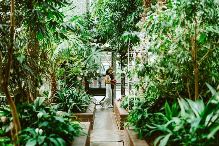 Bridal Entrance at the Barbican Conservatory London