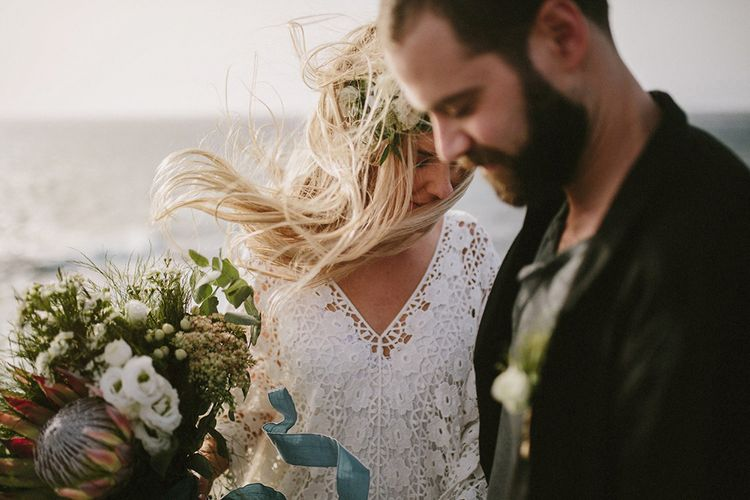 Lanzarote Elopement With Styling By Best Day Ever & Images From Marcos Sanchez