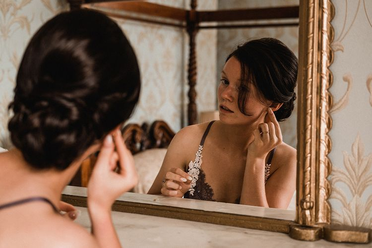 Bridal Preparations   Outdoor Wedding at The Haven Hotel in Southern Ireland   Jason Mark Harris Photography