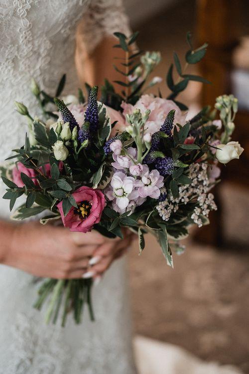 Wild Flower Wedding Bouquet   Outdoor Wedding at The Haven Hotel in Southern Ireland   Jason Mark Harris Photography