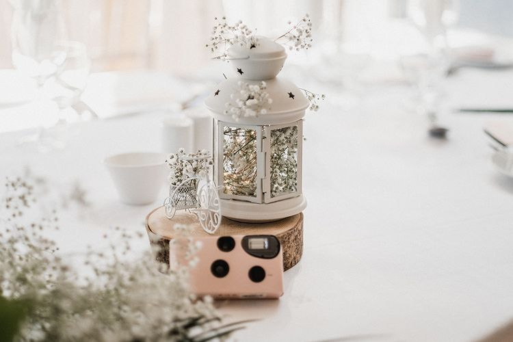 Lantern Table Centrepieces   Outdoor Wedding at The Haven Hotel in Southern Ireland   Jason Mark Harris Photography