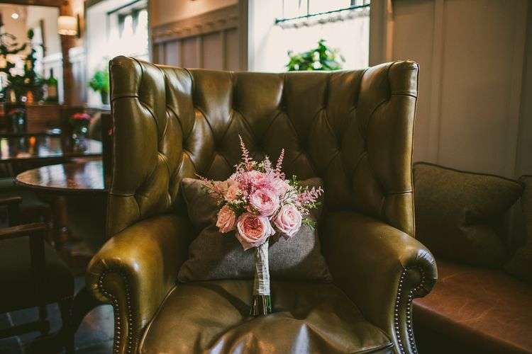 Pink Bridal Bouquet | Nautical At Home Marquee Wedding by 81 Events | RS Brown Photography