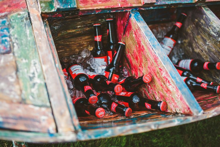 Beer Barrel | Nautical At Home Marquee Wedding by 81 Events | RS Brown Photography
