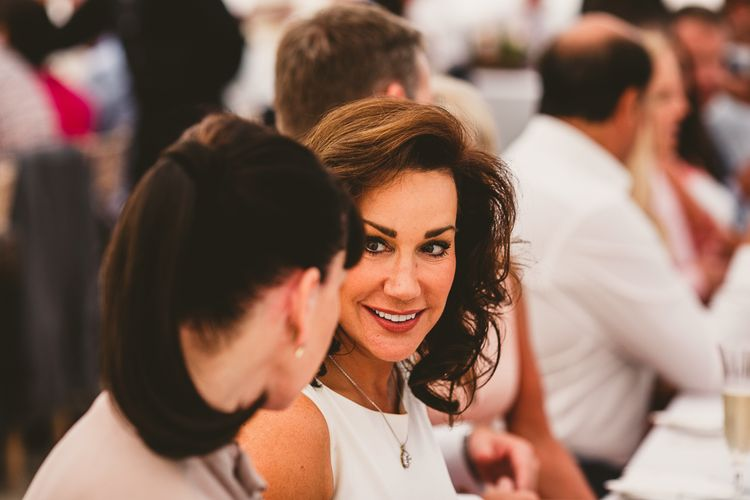 Wedding Guests | Nautical At Home Marquee Wedding by 81 Events | RS Brown Photography