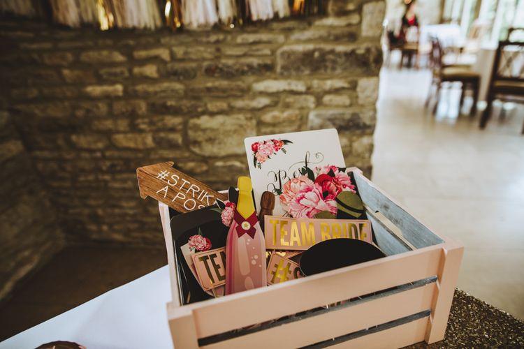 Pink & Gold Wedding Decor