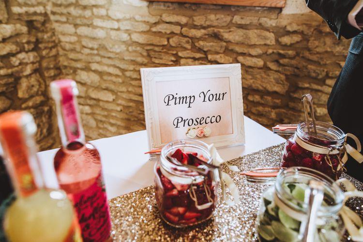 Pimp Your Prosecco Bar